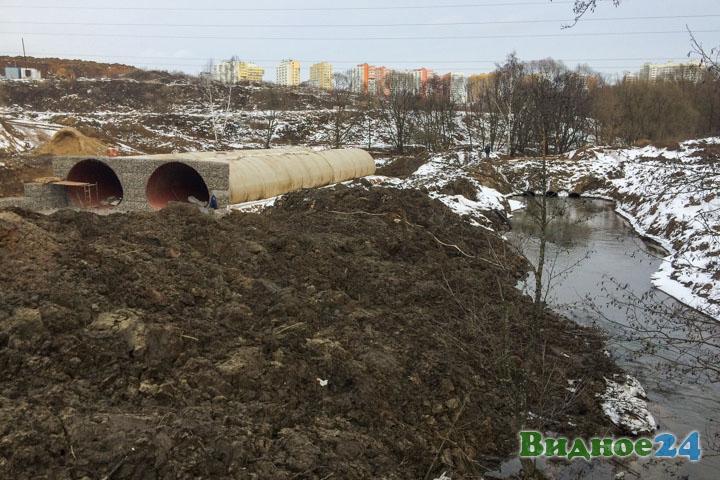 О строительстве дороги-выезда на трассу М-4 «Дон». Февраль 2020. Фоторепортаж фото 7