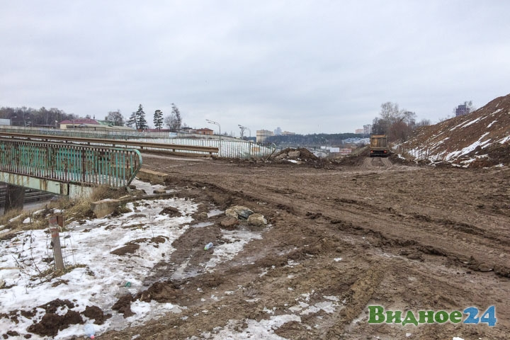 О строительстве дороги-выезда на трассу М-4 «Дон». Февраль 2020. Фоторепортаж фото 56