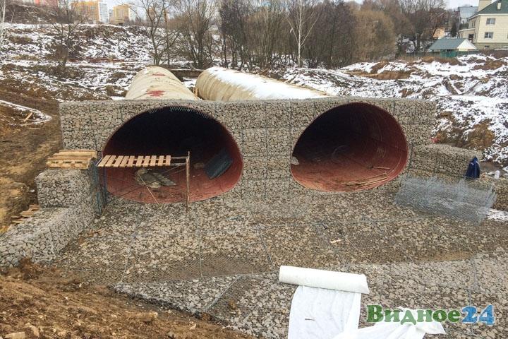 О строительстве дороги-выезда на трассу М-4 «Дон». Февраль 2020. Фоторепортаж фото 42