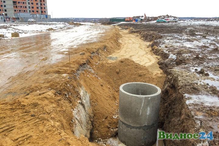 О строительстве дороги-выезда на трассу М-4 «Дон». Февраль 2020. Фоторепортаж фото 14