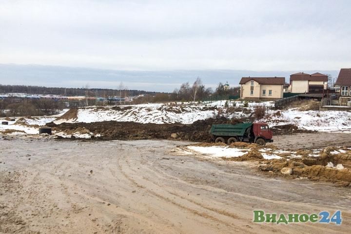 О строительстве дороги-выезда на трассу М-4 «Дон». Февраль 2020. Фоторепортаж фото 21