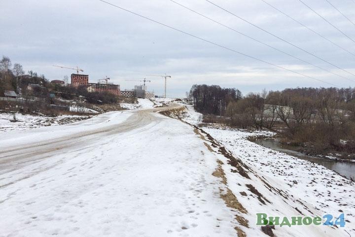 О строительстве дороги-выезда на трассу М-4 «Дон». Февраль 2020. Фоторепортаж фото 29