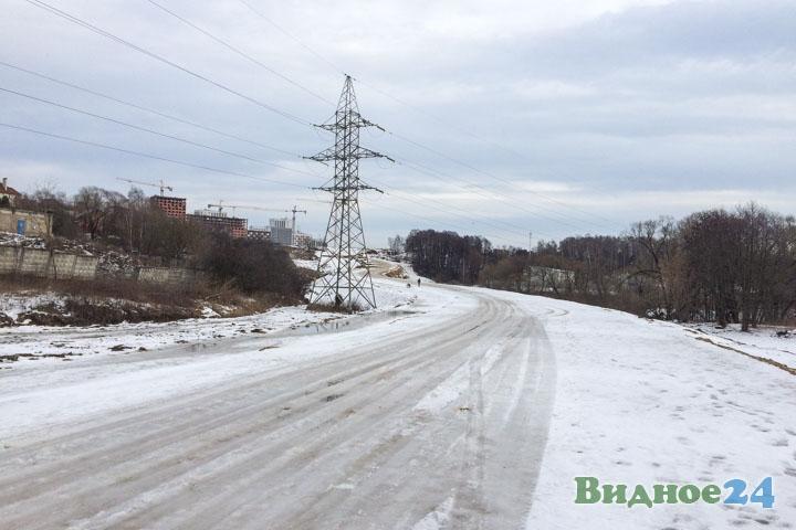 О строительстве дороги-выезда на трассу М-4 «Дон». Февраль 2020. Фоторепортаж фото 30