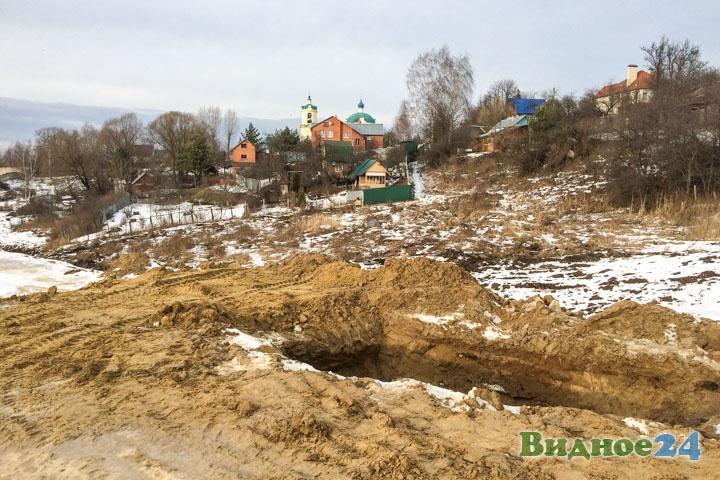 О строительстве дороги-выезда на трассу М-4 «Дон». Февраль 2020. Фоторепортаж фото 25