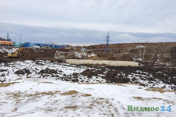 О строительстве дороги-выезда на трассу М-4 «Дон». Февраль 2020. Фоторепортаж фото 31