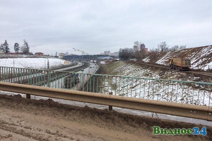 О строительстве дороги-выезда на трассу М-4 «Дон». Февраль 2020. Фоторепортаж фото 58