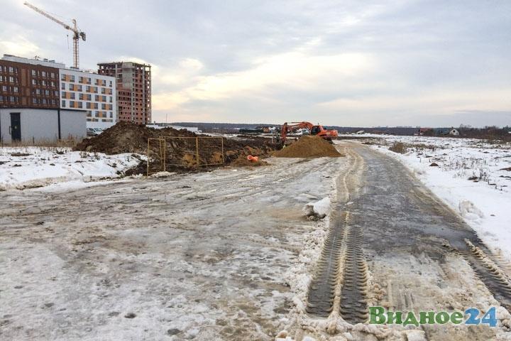 О строительстве дороги-выезда на трассу М-4 «Дон». Февраль 2020. Фоторепортаж фото 10
