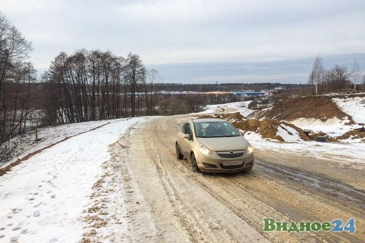 О строительстве дороги-выезда на трассу М-4 «Дон». Февраль 2020. Фоторепортаж фото 22