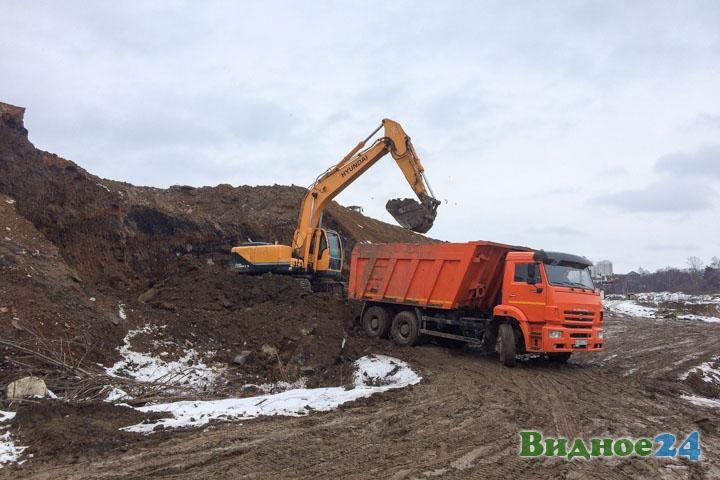 О строительстве дороги-выезда на трассу М-4 «Дон». Февраль 2020. Фоторепортаж фото 50