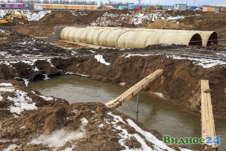 О строительстве дороги-выезда на трассу М-4 «Дон». Февраль 2020. Фоторепортаж фото 32