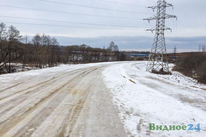 О строительстве дороги-выезда на трассу М-4 «Дон». Февраль 2020. Фоторепортаж фото 27