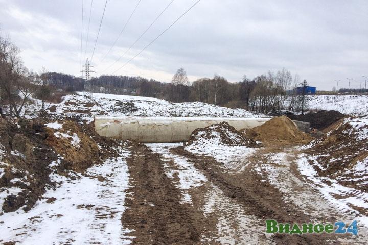 О строительстве дороги-выезда на трассу М-4 «Дон». Февраль 2020. Фоторепортаж фото 48