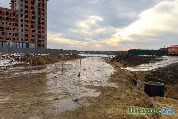 О строительстве дороги-выезда на трассу М-4 «Дон». Февраль 2020. Фоторепортаж фото 15