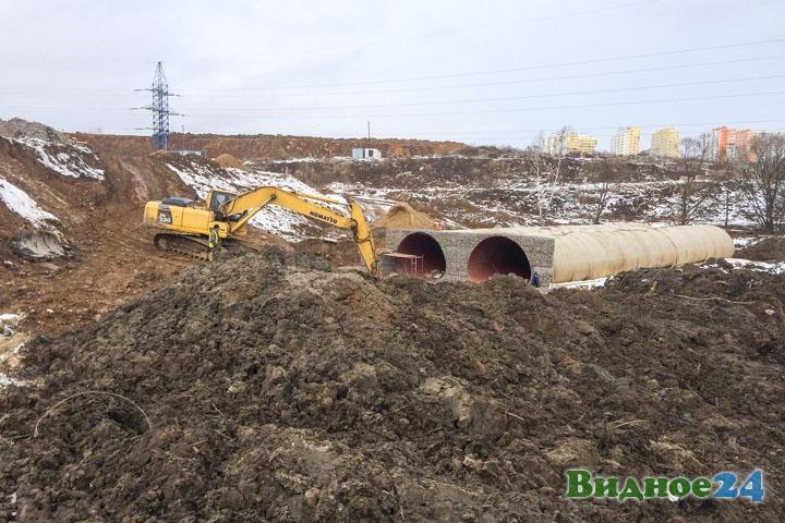 О строительстве дороги-выезда на трассу М-4 «Дон». Февраль 2020. Фоторепортаж фото 44