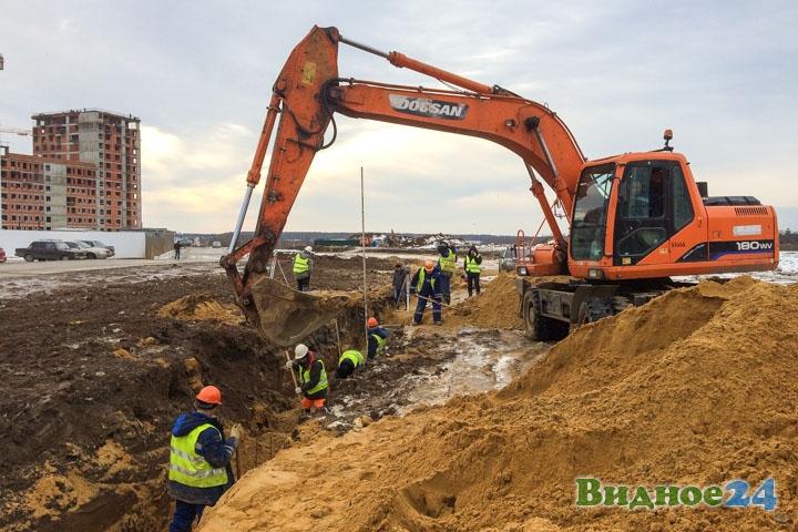 О строительстве дороги-выезда на трассу М-4 «Дон». Февраль 2020. Фоторепортаж фото 11