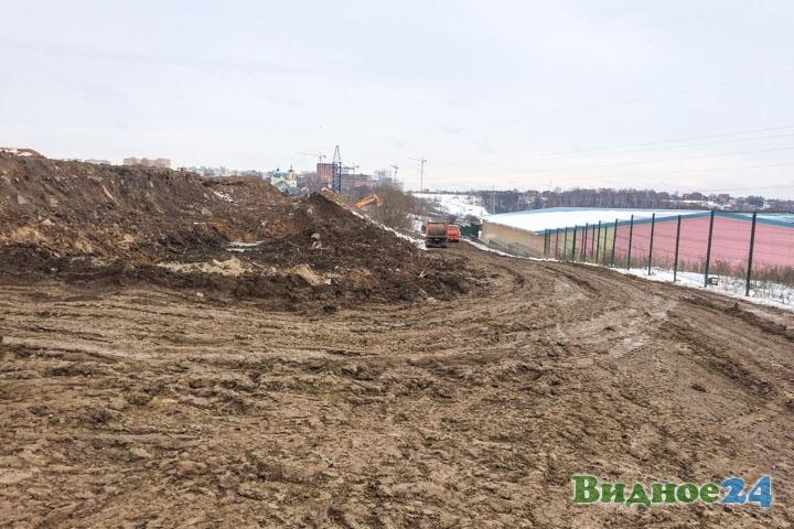 О строительстве дороги-выезда на трассу М-4 «Дон». Февраль 2020. Фоторепортаж фото 55