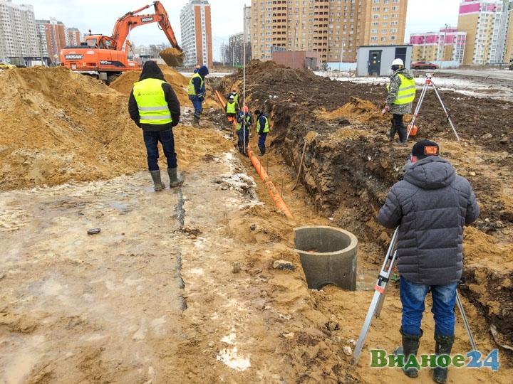 О строительстве дороги-выезда на трассу М-4 «Дон». Февраль 2020. Фоторепортаж фото 12
