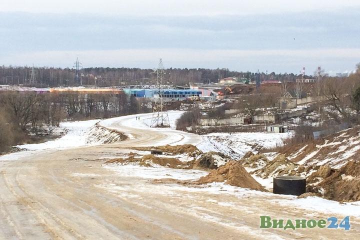 О строительстве дороги-выезда на трассу М-4 «Дон». Февраль 2020. Фоторепортаж фото 23