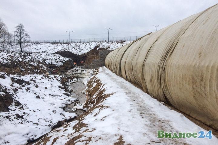 О строительстве дороги-выезда на трассу М-4 «Дон». Февраль 2020. Фоторепортаж фото 34