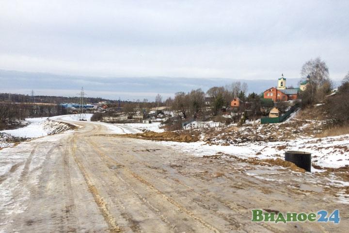 О строительстве дороги-выезда на трассу М-4 «Дон». Февраль 2020. Фоторепортаж фото 24