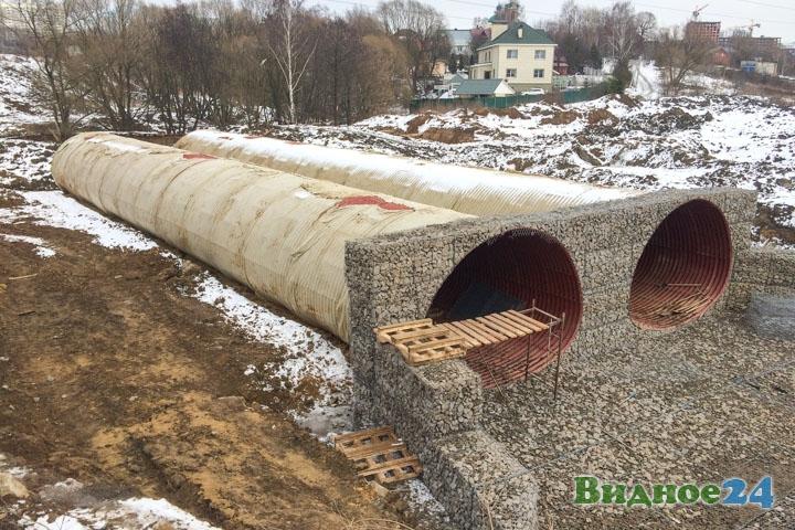 О строительстве дороги-выезда на трассу М-4 «Дон». Февраль 2020. Фоторепортаж фото 46