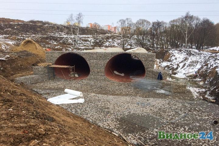 О строительстве дороги-выезда на трассу М-4 «Дон». Февраль 2020. Фоторепортаж фото 43
