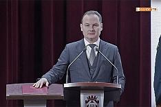 Алексей Петрович Спасский вступил в должность главы Ленинского городского округа