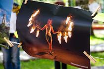 Репортаж c фотовыставки «Сушка» и танцевального флешмоба - общественных мероприятий, которые прошли в День города Видное