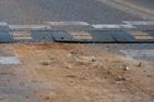 От тупикового моста улицы Донбасской через трассу «Дон» до строек за 6-ым микрорайоном строят дорогу для грузовиков