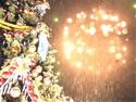 Видеосюжет: Репортаж студии «РаКурс» Новогодней ночи у кинотеатра «Искра»