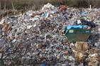 В овраге у Таболовского пруда города Видное компания «Эко-транс» устроила огромную свалку. Фоторепортаж