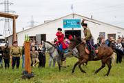 Видновские казаки отметили год с открытия конно-спортивного комплекса «Казачий Дозор» осенними играми. Фоторепортаж
