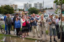 20 июля состоялся митинг против вырубки леса между 6-ым микрорайоном и деревней Таболово. История проблемы и фоторепортаж