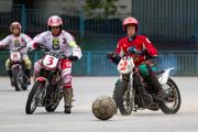 25 августа в Видном в рамках ЧР по мотоболу 2013 состоялась игра между командами «Металлург» и «Агрокомплекс». Фоторепортаж