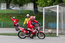 В Видном стартовали домашние игры мотобольной команды «Металлург» в рамках чемпионата России 2013. Фоторепортаж