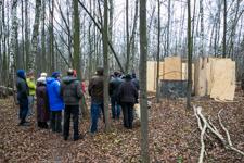 В Таболовском лесу началась стройка дома. Видеозапись встречи жителей и статья инициативной группы
