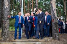 ВРИО губернатора Андрей Воробьев с рабочей поездкой посетил Тимоховский парк в Видном. Фото и видеорепортаж