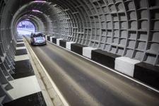 Тоннель под железной дорогой после капитального ремонта открыт в обе стороны. Фоторепортаж