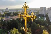 Храмы Видновского края с высоты птичьего полета