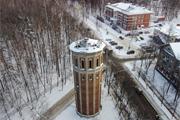 Зимний город Видное с высоты птичьего полета (53 фото)