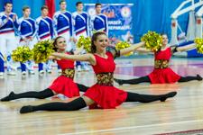 В Видном прошел Московский областной фестиваль по чирлидингу. Видео- и фоторепортаж