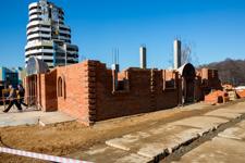 На месте снесенной часовни на ПЛК заложен новый храм Александра Невского