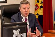 Полная видеозапись пресс-конференции и.о. главы Ленинского муниципального района Олега Хромова