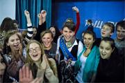 Запоздалый фоторепортаж с районного конкурса «Рыцарь года 2014». Победил Алексей Аксенов из школы №7