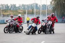 В Видном начался международный турнир по мотоболу. Фоторепортаж
