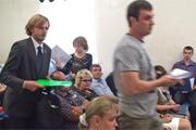 Заседание Совета депутатов по вопросу застройки Тимоховского парка было сорвано. Видеозапись